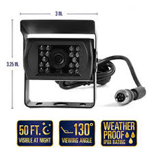 rear view camera system one camera setup tft lcd rear view camera system one 1 camera setup 5 6 tft lcd monitor w remote 1 backup weatherproof color camera w 50ft night vision