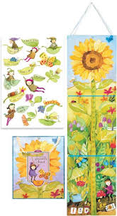 Sunflower Growing Chart Growing Like A Sunflower Growth Chart Holiday Gift Guide