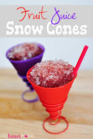 dye free fruit juice snow cones all natural no food coloring