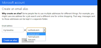 Create Outlook How To Add And Use Outlook Com E Mail Aliases Cnet
