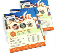 Green Home For Sale Flyer 6 House Brochure Templates Free