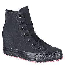 converse platform sneakers. converse chuck taylor platform black casual wedge sneaker sneakers n