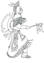 Native American Coloring Sheet Native Coloring Pages Free Top Native