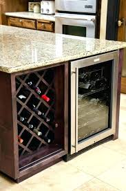 slim wine refrigerator medium size of cabinet large fridge under counter best reviews