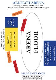 Kentucky Horse Park Seating Chart 2019 Kentucky Book Fair