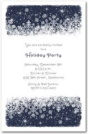 holiday invitations midnight snowflakes holiday invitations