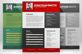 Colorful Resume Templates Amazing Free Colorful Resume Templates 24 Microsoft Word For Download 24