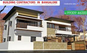 sample residential building contractors in bangalore and their construction rates