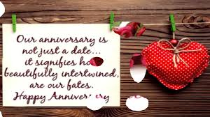 Wedding Anniversary Wishes From Wife To Husband Wedding Anniversary