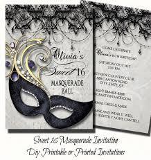 Sweet Sixteen Masquerade Party Invitation Masquerade Invite   Etsy   Sweet  16 masquerade, Masquerade invitations, Sweet 16 masquerade party