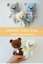 Easy Crochet Teddy Bear Pattern New Design Ideas