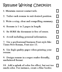 Good Resume Writing Made Easy Delectable Writing A Good Resume