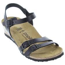 birkenstock lana black sandals