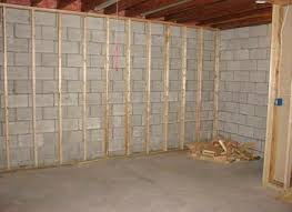 ideas for unfinished basement walls. Unfinished Basement Wall Ideas Framing A Against Concrete Ingenious Design . For Walls S