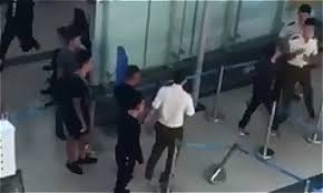 Security Personnel Vietnam Airport Security Personnel Fined For Letting Thugs