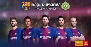 Resultado de imagem para foto chape/barcelona