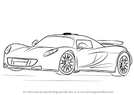 Small Picture Learn How to Draw Venom GT Sports Cars Step by Step Drawing