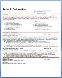 Experienced Nurse Resume Sample Creative Resume Design Templates For ...