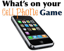 what s on your cell phone game is perfect to play at all sorts of parties