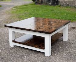 farmhouse coffee table with tons of beautiful ideas