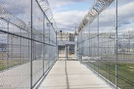barbed wire fence prison. Prison Fences With Barbed Wire : Stock Photo Fence R