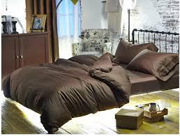 luxury brown 100 egyptian cotton bedding sets sheets queen duvet cover king size bed in a bag linen double quilt doona bedsheet bedlinens plaid duvet cover