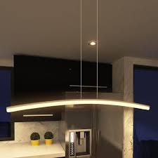 vonn lighting haeidi 32 inch led chandelier adjule suspension fixture modern linear chandelier