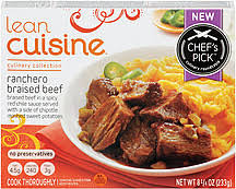 Lean Cuisine Culinary Collection -- Ranchero Braised Beef review