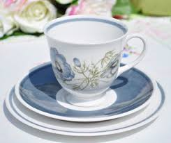 Decorating With Teacups And Saucers Susie Cooper Glenmist Teacup Trio c100s Teacup 100s and China 68