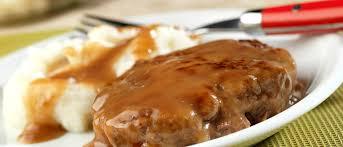simple salisbury steak cbell soup