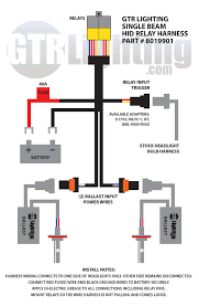 hid relay harnesses explained better automotive lighting relay harness diagram