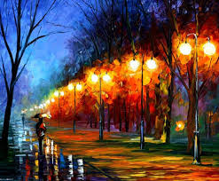 painting with oil 411 best rainy night art images on