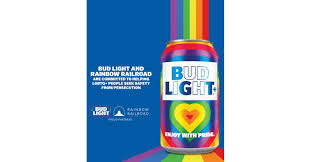 Bud Light Rainbow Cans Bud Light Canada Celebrates Pride With Limited Edition
