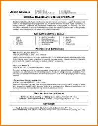 5+ Medical Biller Resume Sample | Sample Travel Bill