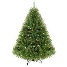 Martha Stewart Living  Artificial Christmas Trees  Christmas Pre Lit Spruce Christmas Tree