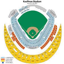 Kauffman Stadium Row Chart Kauffman Stadium Seating Chart Views Reviews Kansas