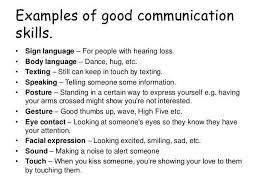 Communication Skills In Resume Example Examples Of Resumes