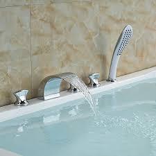 Waterfall Bathtub Popular Waterfall Tub Faucet Buy Cheap Waterfall Tub Faucet Lots