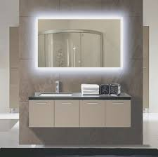 lighted wall mirror. bathroom: lighted bathroom wall mirror artistic color decor unique and home ideas