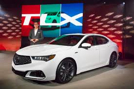 2018 acura tlx. beautiful acura jon ikeda vice president and general manager of acura reveals the 2018  acura tlx for acura tlx