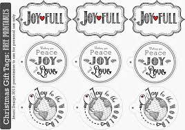 Sublime Living: Christmas Holiday Gift Tags : Free Printable