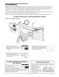 programming to add or reprogram a hand held remote control using the learn on craftsman 1 2 hp garage door opener model 139 5364812 user manual