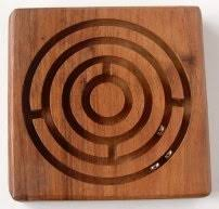Wooden Maze Game With Ball Bearing Wooden Games 38