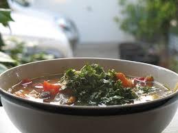 crockpot vegetable minestrone soup