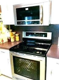 small over the range microwave. Small Over The Stove Microwave Height Range Clearance Code .