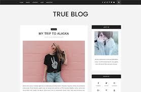 True Blog Blogger Template Top 60 Blogger Best Free