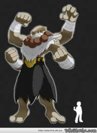I Like This Concept Of Mega Machamp From A Bodybuilder
