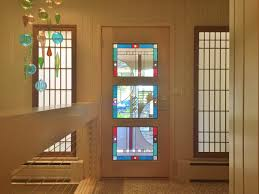 stained leaded glass entryway windows for your fort collins home