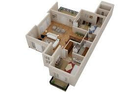 Small Picture 2D 3D House Floorplans Architectural Home Plans Netgains