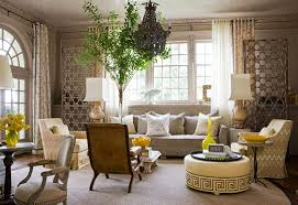 Pattern a Singular Living Room Design